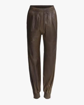 Rag & Bone Leather Jogger Pants