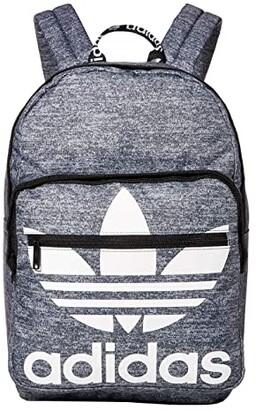 adidas Originals Trefoil Pocket Backpack (Onix Jersey/Black) Backpack Bags