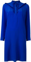Paul Smith frill bib dress - women - Cupro - 46