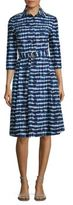 Tory Burch Derrick Tie-Dye Shirtdress