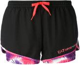 Ea7 Emporio Armani - Ventus 7 shorts - women - Polyester/Spandex/Elastane - XS