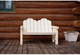 Abella Wood Bench Loon Peak Color: Ready to Finish