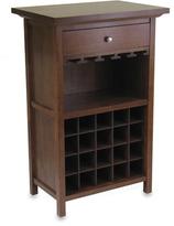 Bed Bath & Beyond Walnut Wine Cabinet