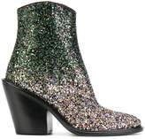 A.F.Vandevorst cowgirl glitter boots