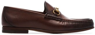Gucci Brown 1953 Horesbit Leather Loafers