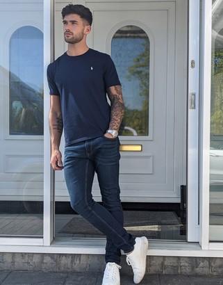 Esprit skinny fit jeans in dark blue