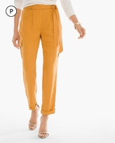 Chico's Textured Soft Utility Ankle Pants