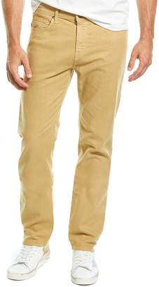 J Brand Kane Hyaline Linen-Blend Straight Leg