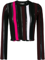 Proenza Schouler cropped knit top - women - Polyamide/Polyester/Viscose - S