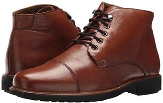 Massimo Matteo 5-Eye Chukka Cap Boot (Havana) Men's Lace-up Boots