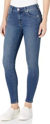 True Religion Women's Jennie Mid Rise Super Skinny Leg fit Jean