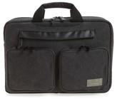 Men's Hex Radar Convertible Water Resistant Briefcase - Grey