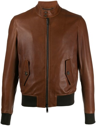 Tagliatore Colby contrast-trimmed jacket