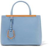Fendi 2jours Petite Leather Shopper - Blue