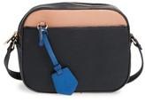 BP Faux Leather Tab Camera Crossbody Bag - Black