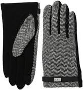 Lauren Ralph Lauren Menswear Pattern Metal Logo Touch Gloves