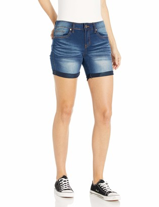 Cover Girl Jeans Juniors Denim Shorts Booty Bermuda Capri Mid Rise Basic or Ripped