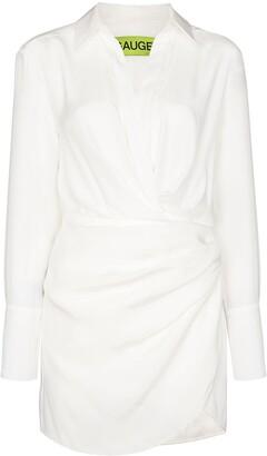 GAUGE81 Naha silk wrap dress