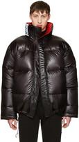 Vetements Reversible Black Canada Goose Edition Down Coat