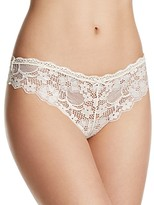 Honeydew Camellia Lace Thong