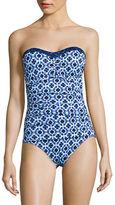 Tommy Bahama Shibori Splash One-Piece Swimsuit