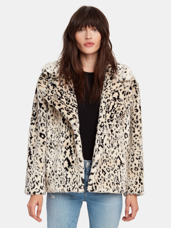 Diane von Furstenberg Jordan Faux Fur Coat