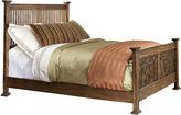 Asstd National Brand Oak Ridge Slat Bed