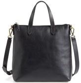 Madewell Mini Transport Leather Crossbody Bag - Brown