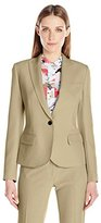 Anne Klein Women's Peak Lapel Jacket