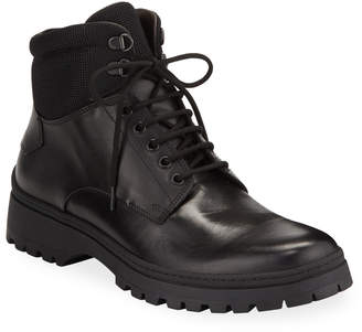 Bruno Magli Men's Val Leather Utility Boots