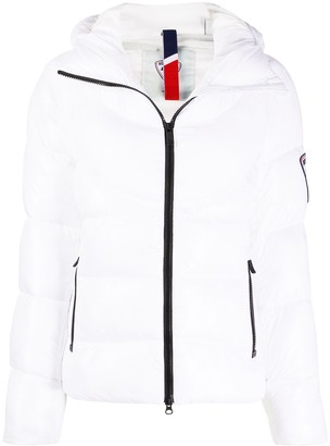 Rossignol Classic V quilted hooded jacket