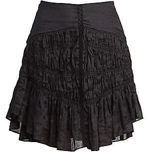 Isabel Marant Women's Sidney Short Ruched Skirt