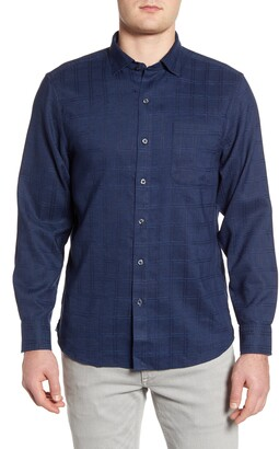 Tommy Bahama Costa Capri Classic Fit Linen Blend Button-Up Shirt