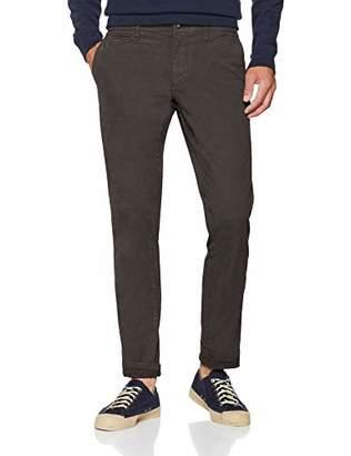 Napapijri Men's Mana Stretch Trouser Dark Grey Solid 198, (Size: 36)