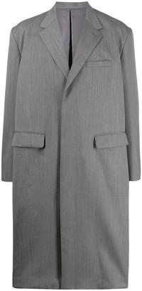 Fumito Ganryu Long Single Breasted Coat