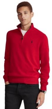 Polo Ralph Lauren Men's Cashmere Blend Quarter-Zip Sweater