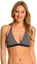 Tommy Hilfiger Swimwear Sailing Stripes Halter Bra Bikini Top 8142668