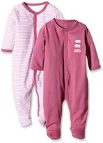 Name It Baby Girls NITNIGHTSUIT W/F NB G NOOS Sleepsuit