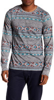 Micros Booker Long Sleeve Printed Tee