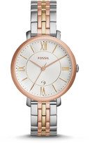 Fossil Jacqueline Tri-Tone Stainless Steel Watch