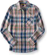 Prince & Fox Pop Color Plaid Button Down