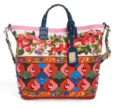 Dolce & Gabbana Carretto Print Canvas Shoulder Bag - Red