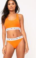PrettyLittleThing Orange Knickers