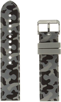 Hadley Roma MS3310RI 220 Grey Silicone Watch Band