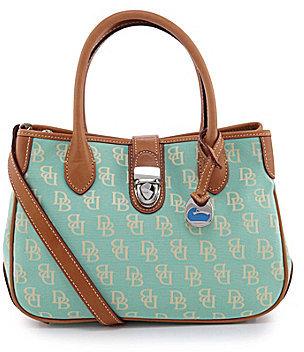 Dooney & Bourke Signature Double Handle Tote Bag