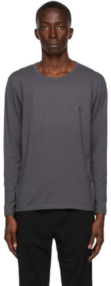 HUGO BOSS Grey Infinity Long Sleeve T-Shirt