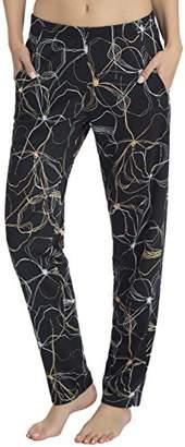 Calida Women's Favourites Trend 2 Pyjama Bottoms, (Black sea Blue 419)