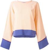 Etro flared sleeve blouse - women - Silk - 40
