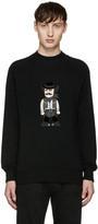 Dolce & Gabbana Black Cowboy Sweater