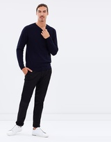 Brooksfield Micro Circle Knit Jumper